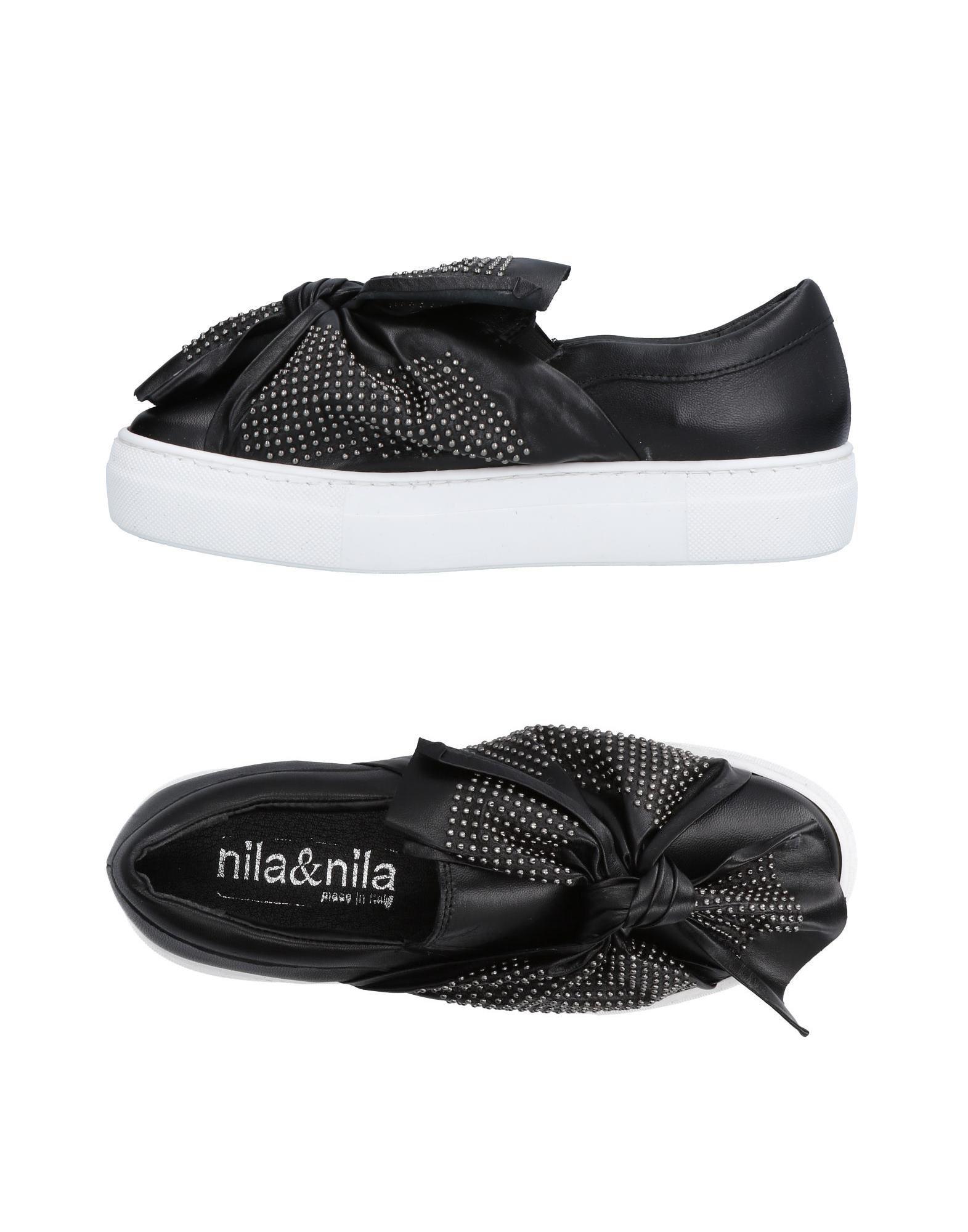 NILA & NILA Низкие кеды и кроссовки
