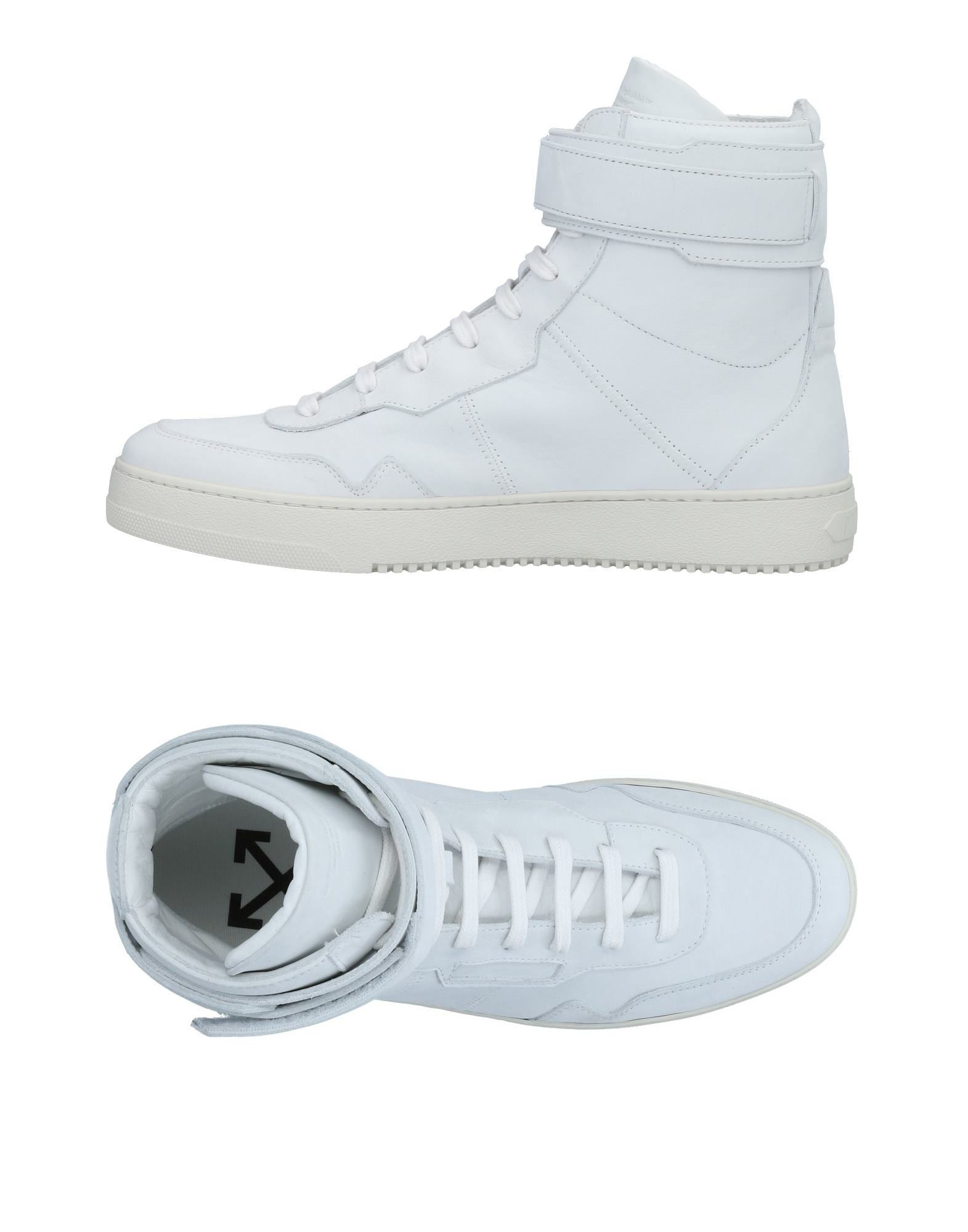 OFF-WHITE™ Высокие кеды и кроссовки кеды кроссовки высокие детские dc rebound se green black white