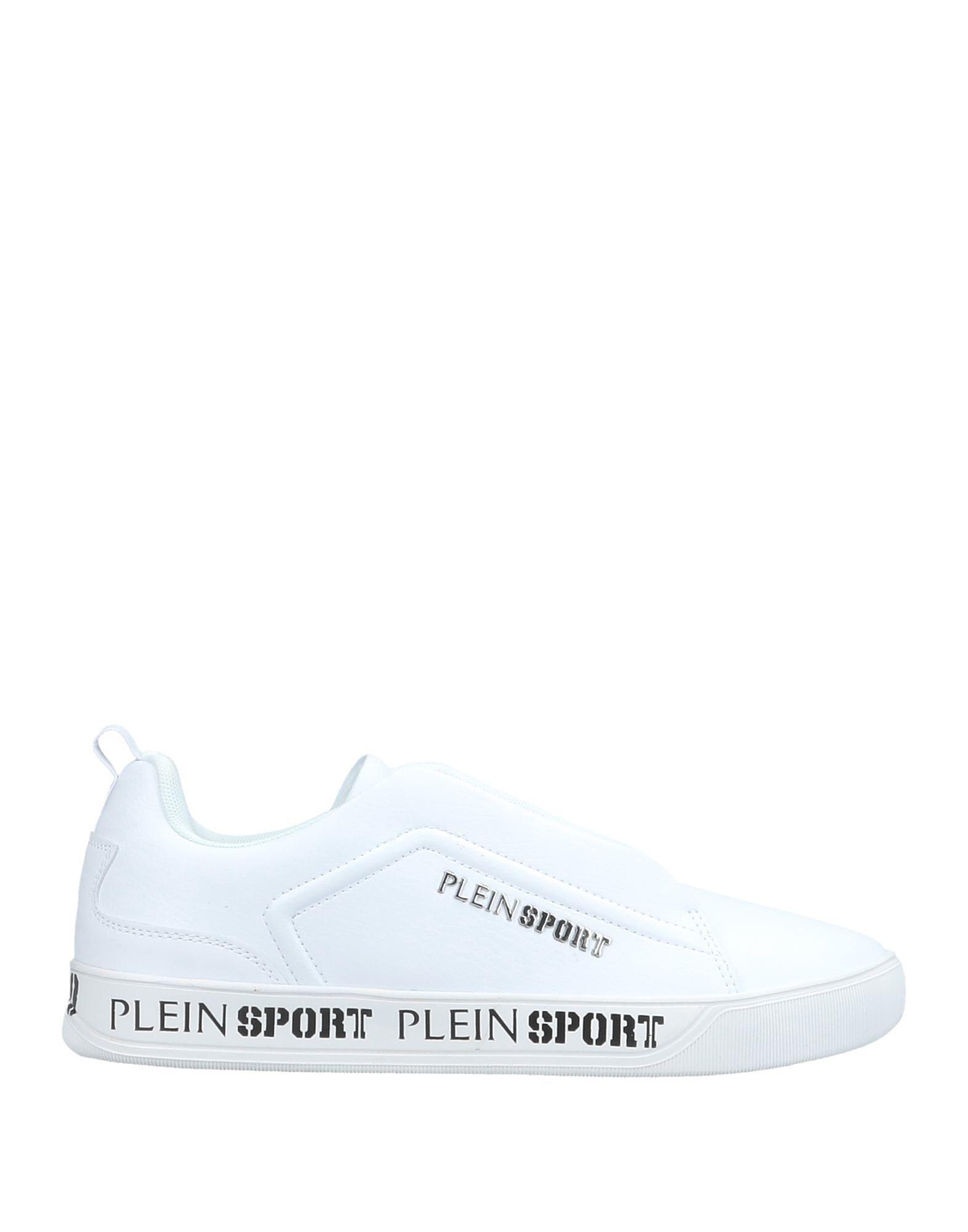 PLEIN SPORT Низкие кеды и кроссовки кеды plein sport plein sport pl007awywu34