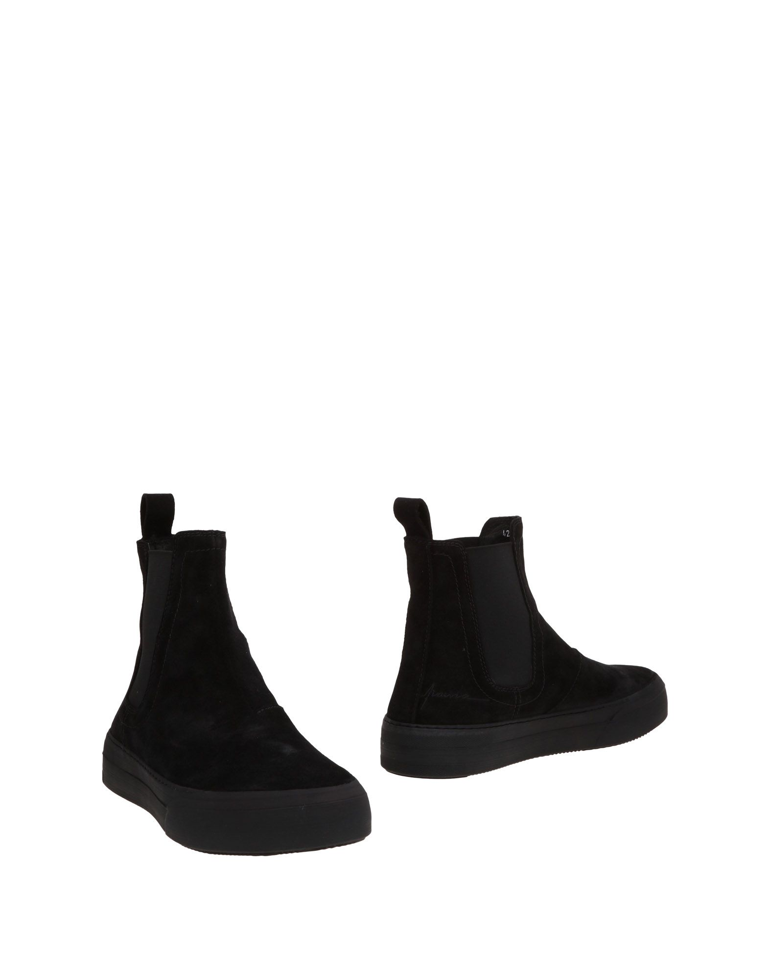 《送料無料》PAURA メンズ ショートブーツ ブラック 48 革