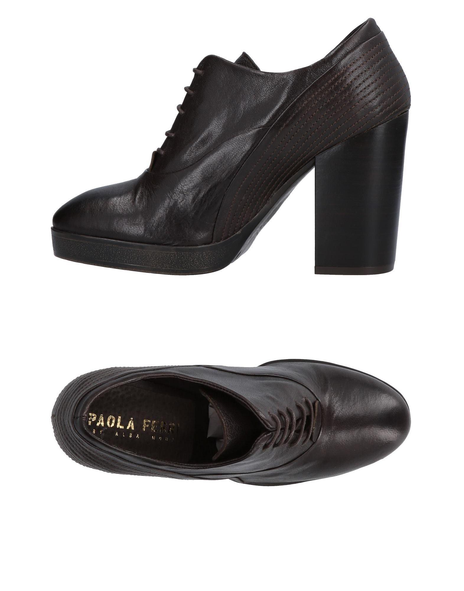 цена PAOLA FERRI Обувь на шнурках онлайн в 2017 году