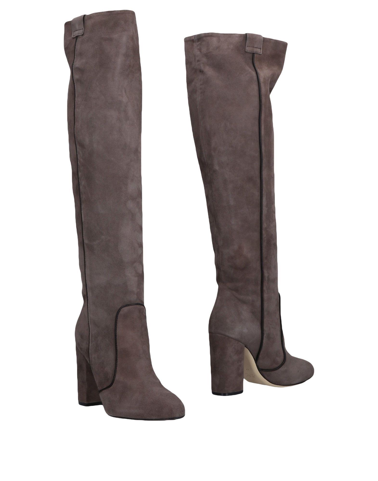 GIAMPAOLO VIOZZI Boots in Dove Grey
