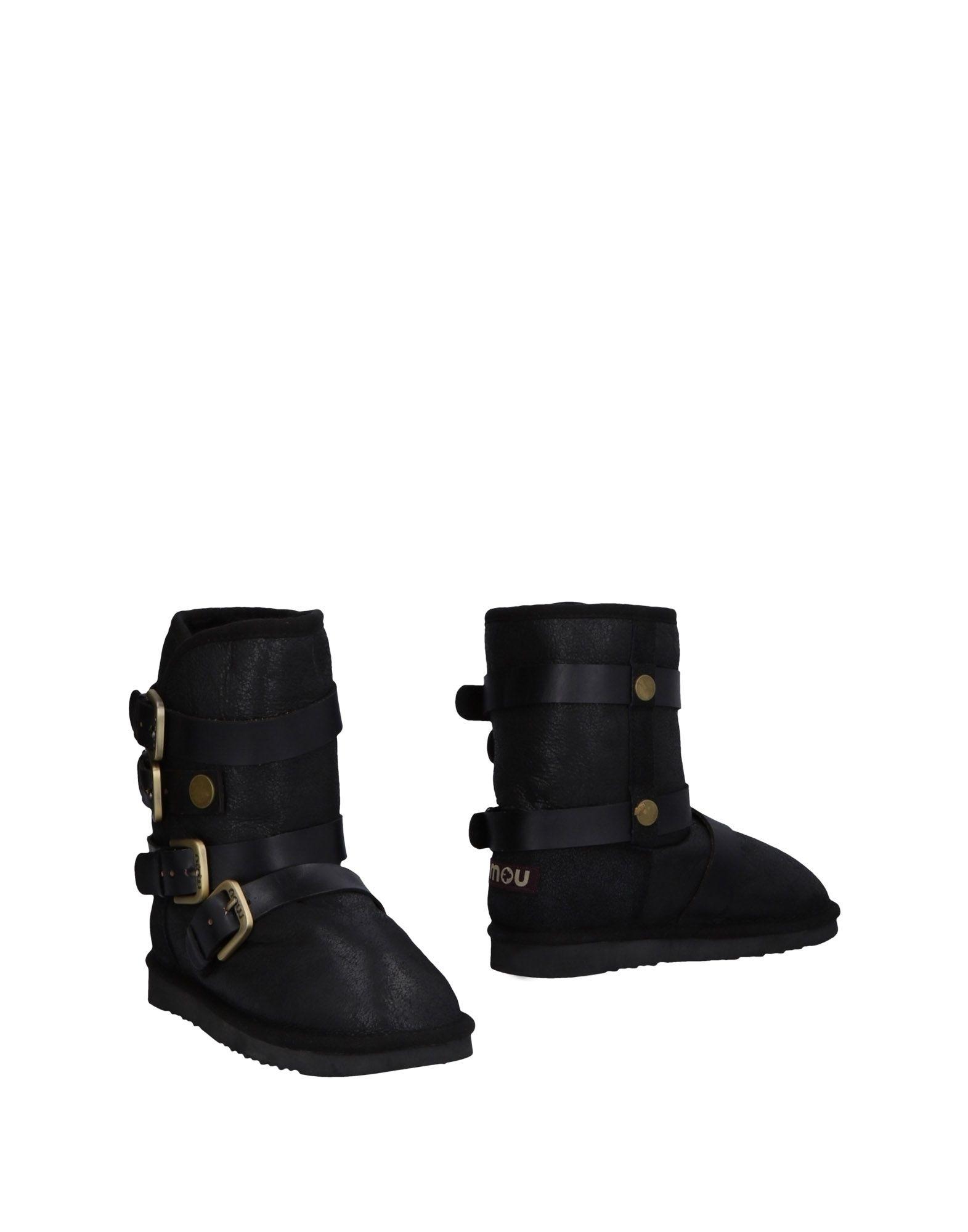 MOU Полусапоги и высокие ботинки ботинки swims ботинки без каблука