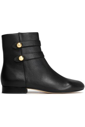 MICHAEL MICHAEL KORS Textured-leather ankle boots