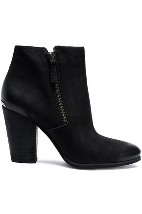 MICHAEL MICHAEL KORS Denver burnished leather ankle boots