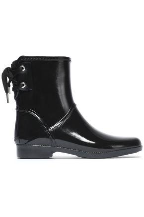 MICHAEL MICHAEL KORS Lace-up rubber rain boots