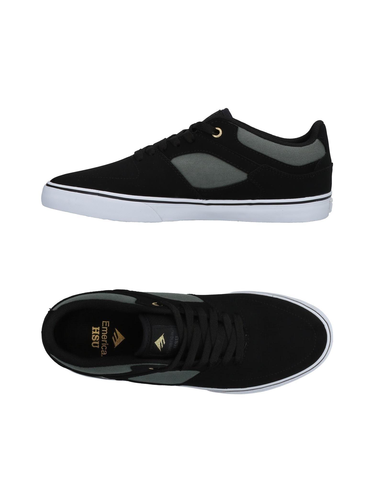 EMERICA Herren Low Sneakers & Tennisschuhe Farbe Schwarz Größe 5