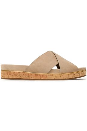 MICHAEL KORS COLLECTION Suede slides