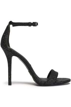 MICHAEL KORS COLLECTION Glittered leather sandals