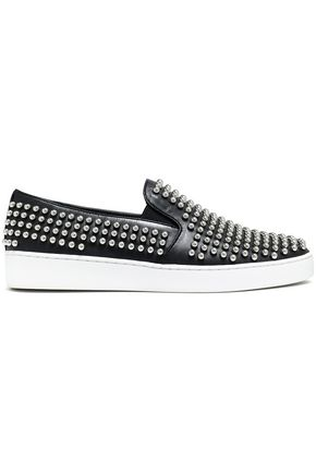 MICHAEL KORS COLLECTION Studded leather slip-on sneaker