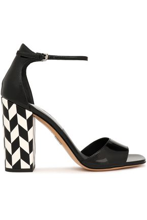 MICHAEL KORS COLLECTION Patent-leather sandals