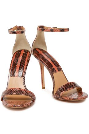 MICHAEL KORS COLLECTION Python sandals