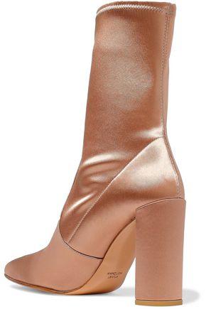 STUART WEITZMAN Satin ankle boots