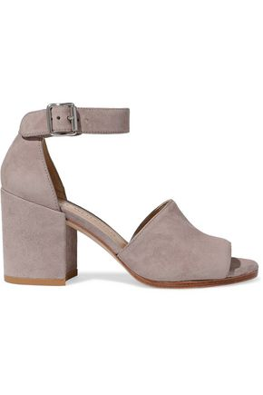 Sohogal Suede Sandals by Stuart Weitzman