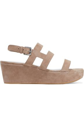 STUART WEITZMAN Barrio suede platform sandals