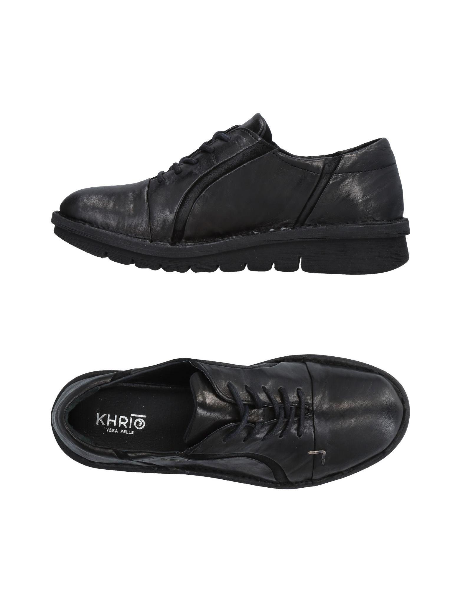 Фото - KHRIO' Обувь на шнурках обувь на высокой платформе dkny
