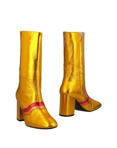 Фото - Полусапоги и высокие ботинки от MR by MAN REPELLER цвет охра