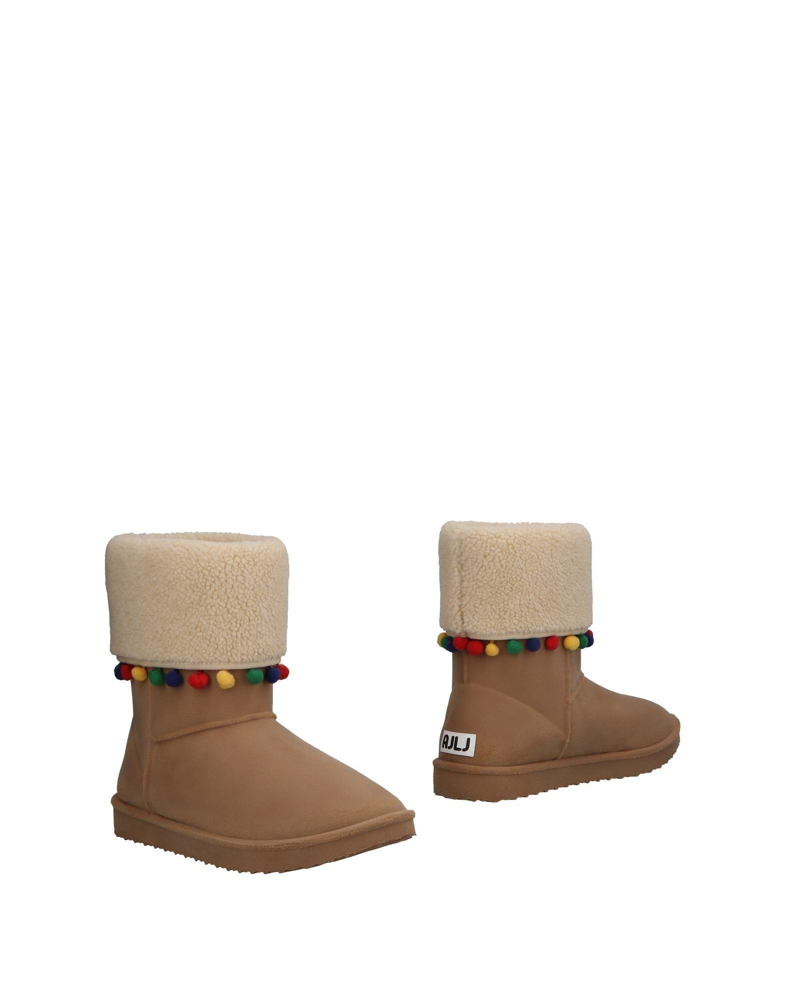 AU JOUR LE JOUR Ankle Boot in Camel