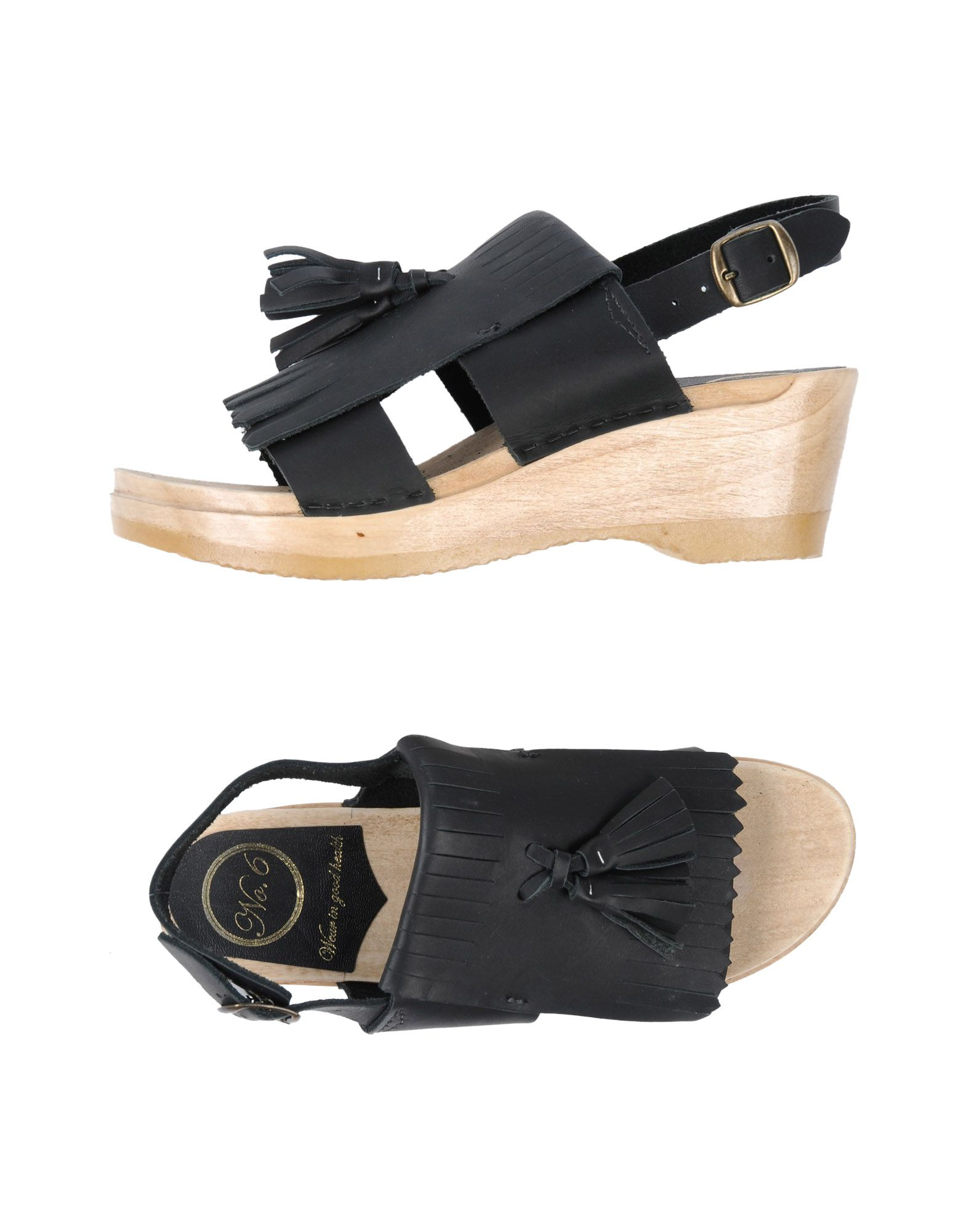 NO. 6 STORE Sandals in Black
