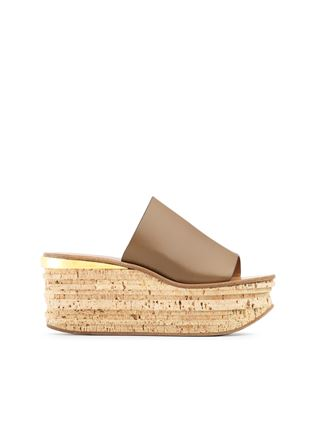 Camille wedge mule