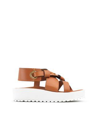 Scottie platform sandal