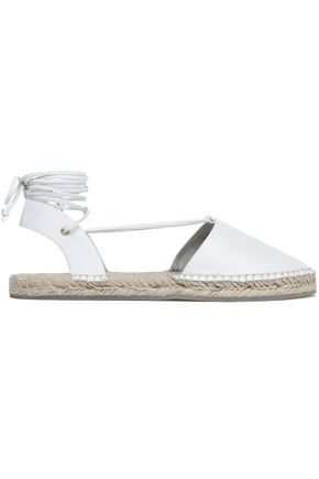 AUSTRALIA LUXE COLLECTIVE Lace-up leather espadrilles