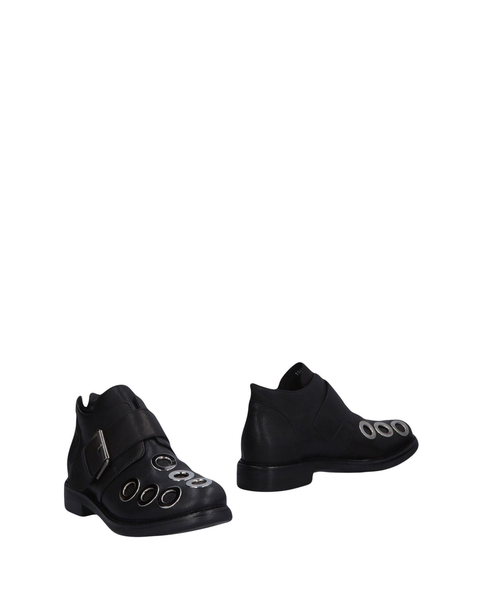 《送料無料》MANILA GRACE レディース ショートブーツ ブラック 35 革