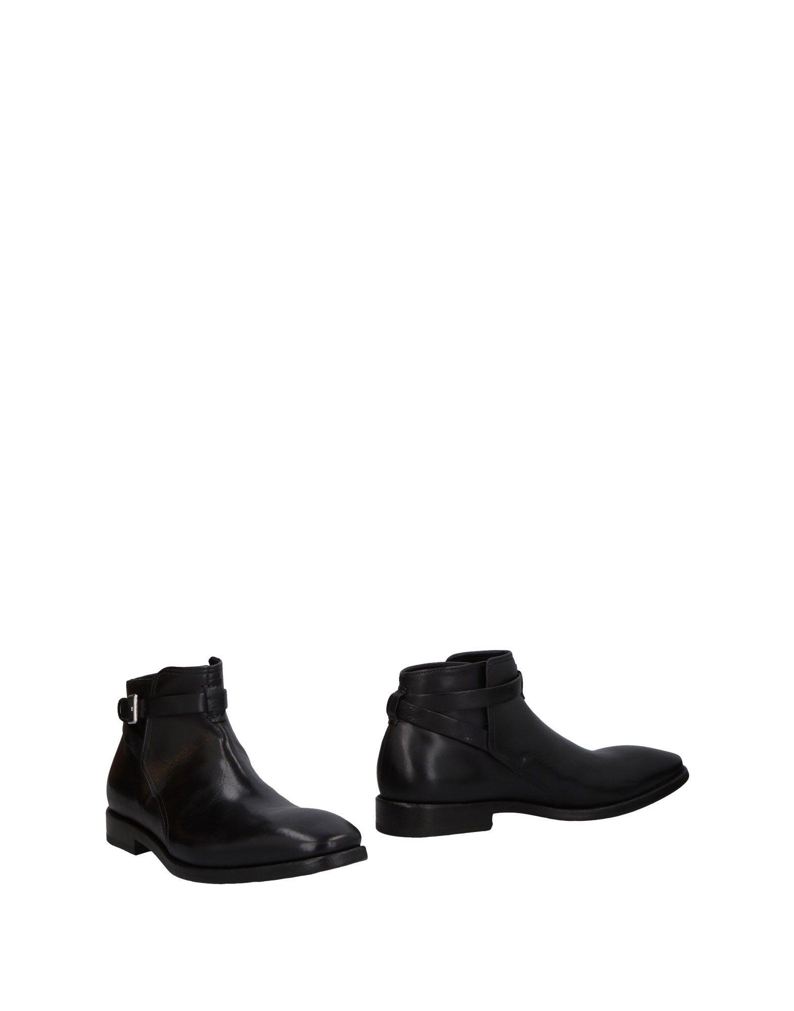 《送料無料》PREVENTI メンズ ショートブーツ ブラック 40 革
