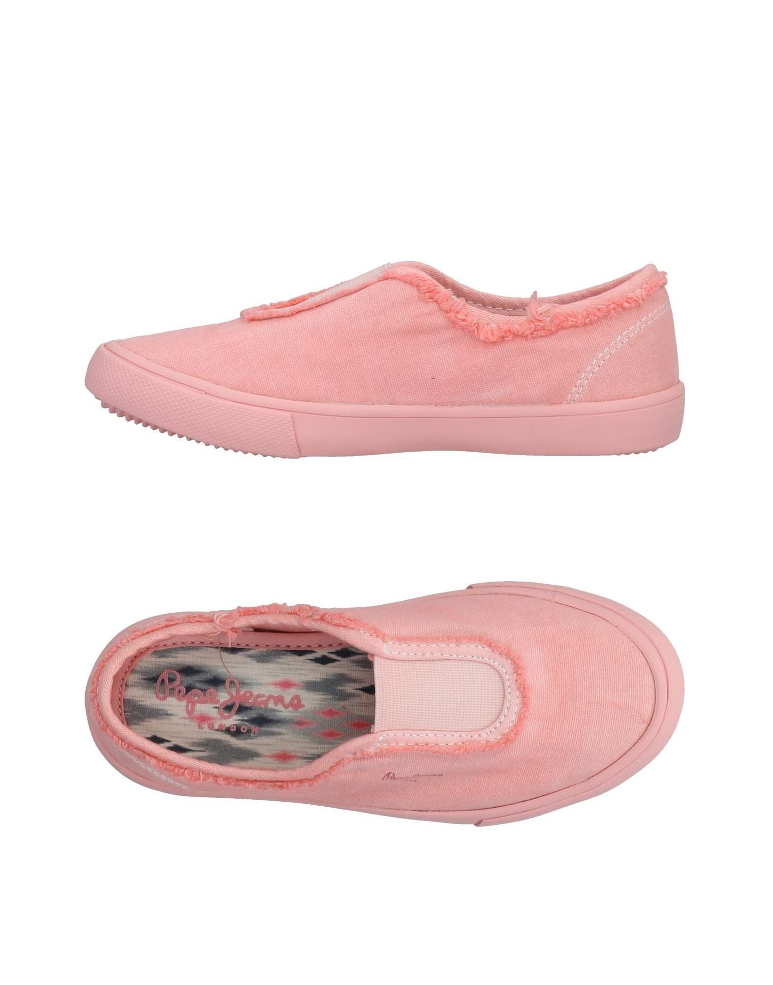 PEPE JEANS Mädchen 3-8 jahre Low Sneakers & Tennisschuhe7 rosa