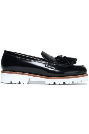 GRENSON Tasseled leather loafers