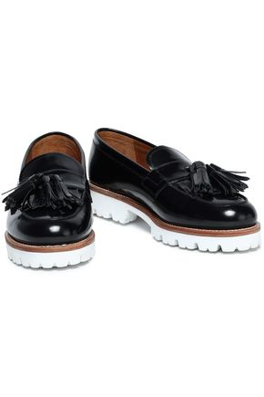 GRENSON Tasseled leather loafers