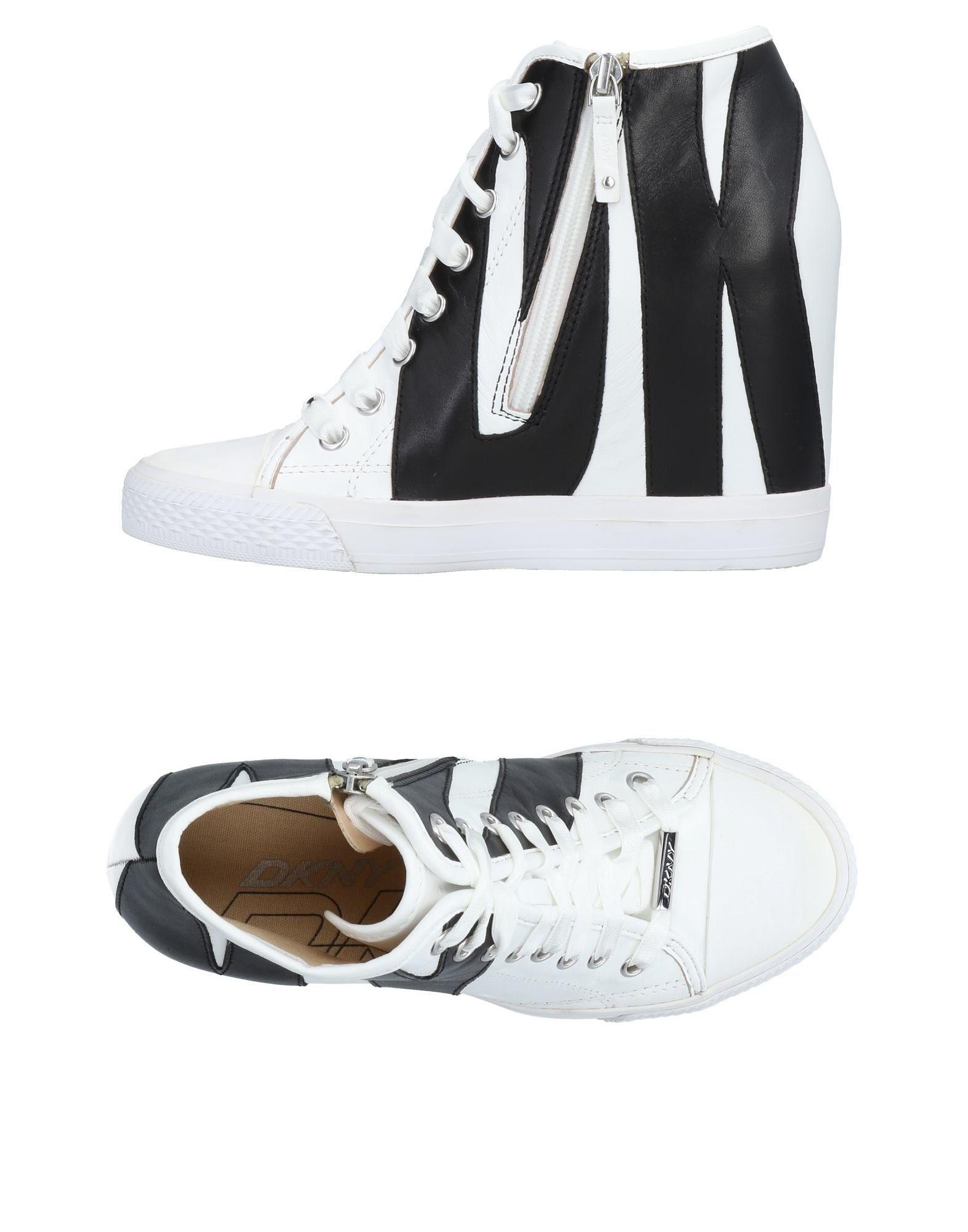 DKNY Высокие кеды и кроссовки