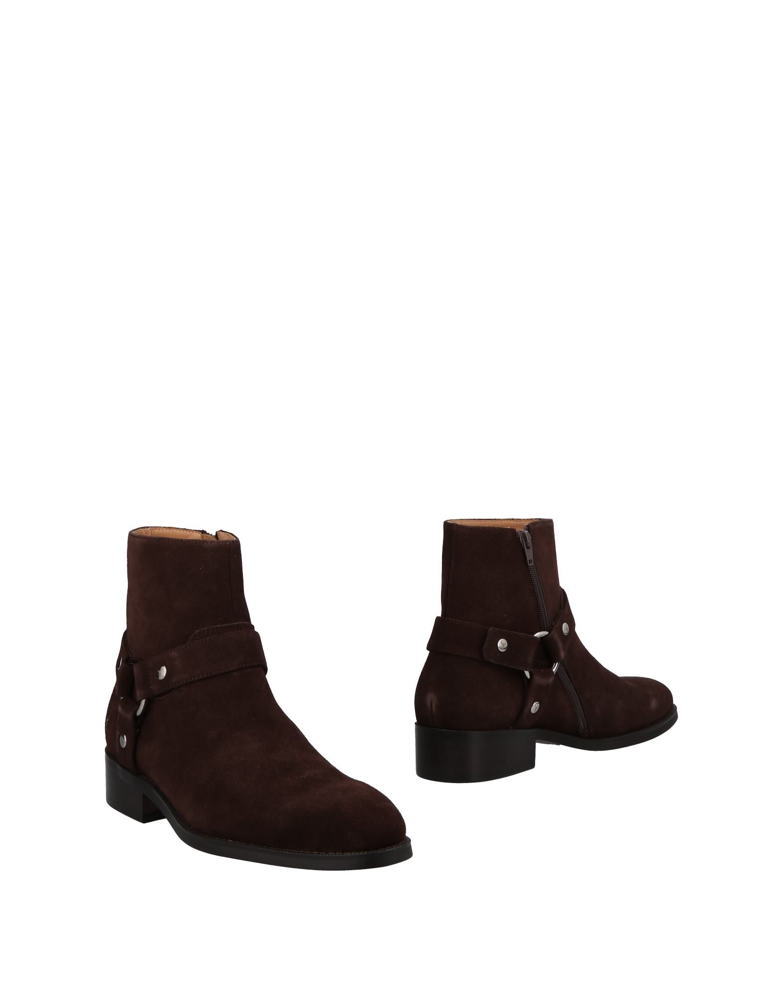 WINDSOR SMITH Ankle Boots in Dark Brown