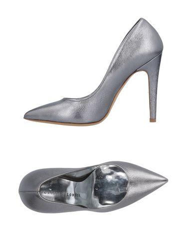 Фото - Женские туфли CRISIAN LONDON свинцово-серого цвета