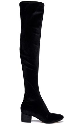 SIGERSON MORRISON Velvet thigh boots