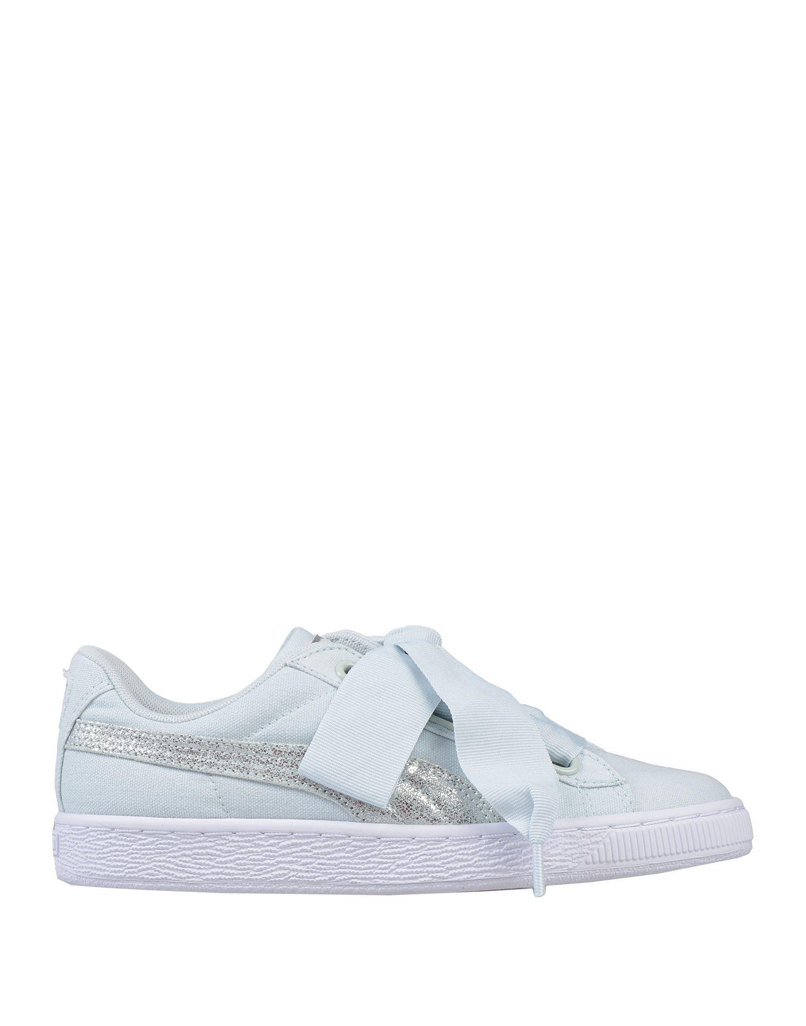 PUMA Damen Low Sneakers & Tennisschuhe7 grün