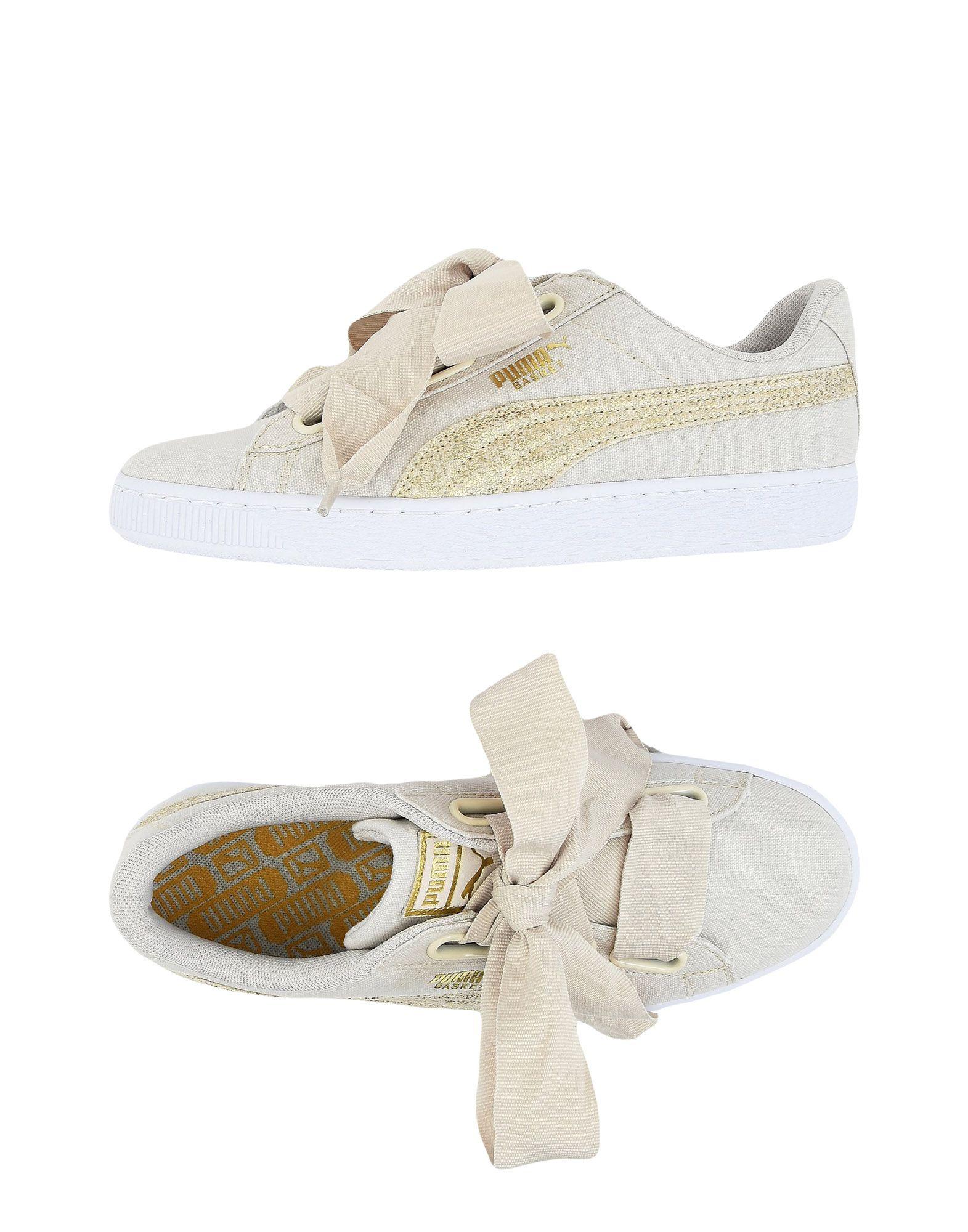 PUMA Damen Low Sneakers & Tennisschuhe9 elfenbein