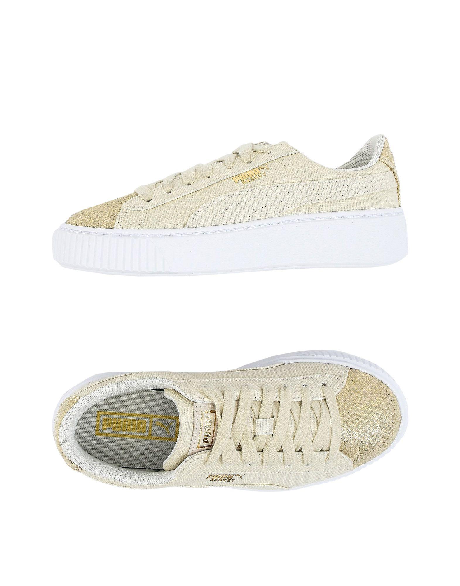 PUMA Damen Low Sneakers & Tennisschuhe6 elfenbein