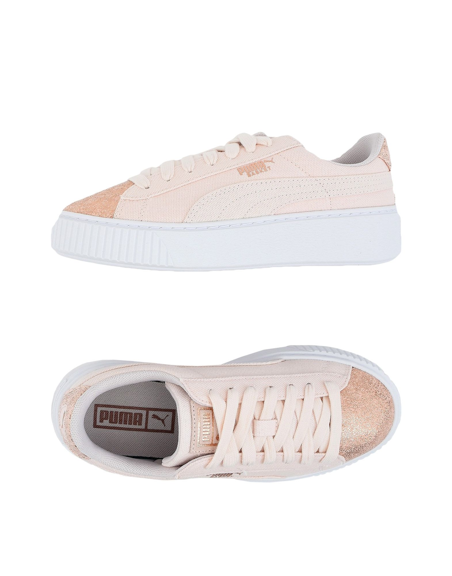 PUMA Damen Low Sneakers & Tennisschuhe10 rosa