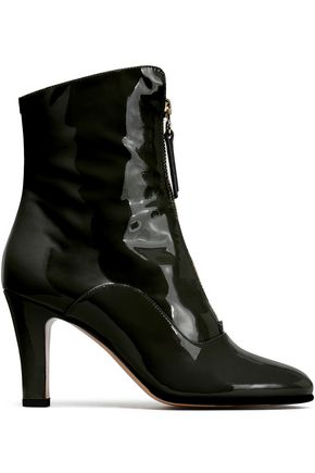 VALENTINO GARAVANI Patent-leather ankle boots