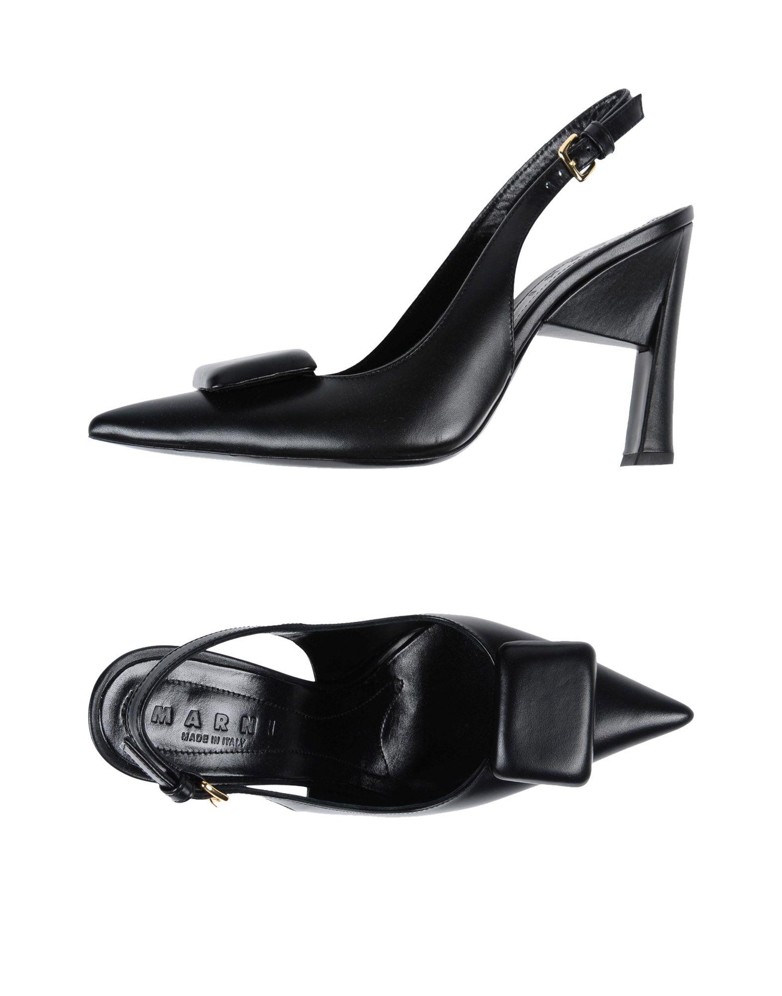 MARNI Туфли цены онлайн