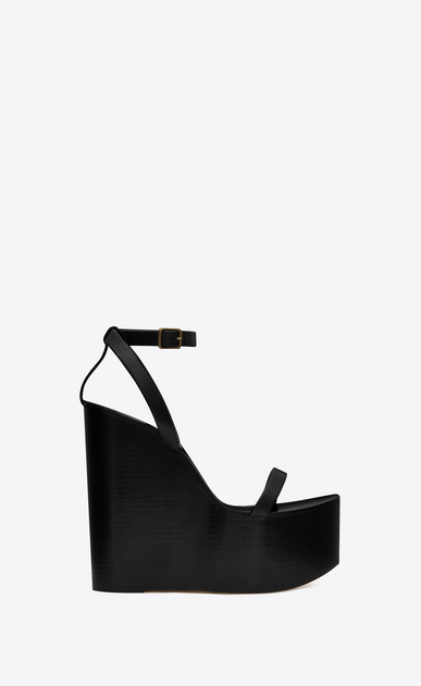 Frida wedge sandal in leather