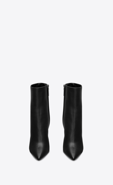 SAINT LAURENT YSL heels Woman Opyum 110 ankle boot in black leather b_V4
