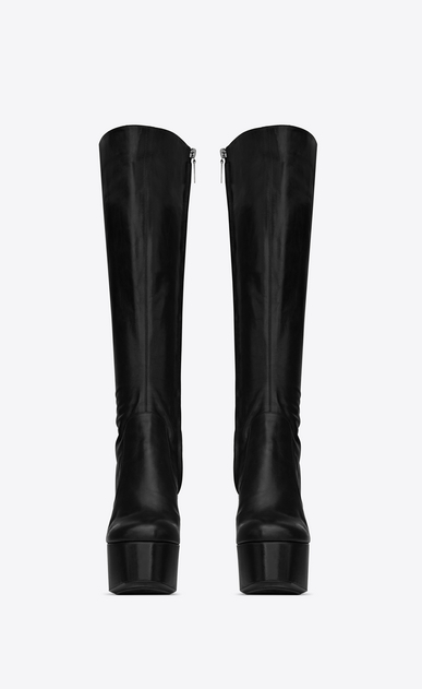 SAINT LAURENT Heeled Boots Woman Billy platform boot in leather b_V4