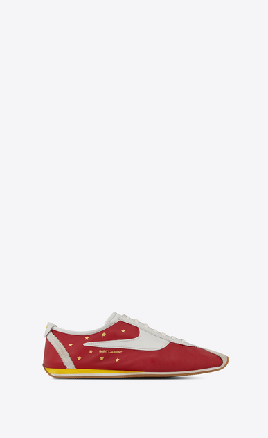 SAINT LAURENT Trainers Woman JAY sneaker in leather a_V4