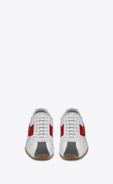 SAINT LAURENT Trainers Woman JAY sneaker in leather b_V4