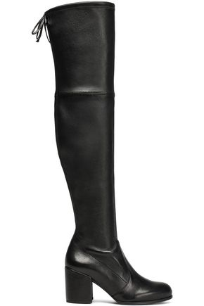 STUART WEITZMAN Tieland stretch-leather over-the-knee boots