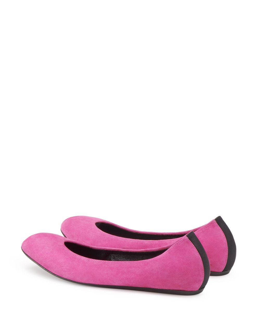 CLASSIC HOT PINK BALLET FLAT - Lanvin