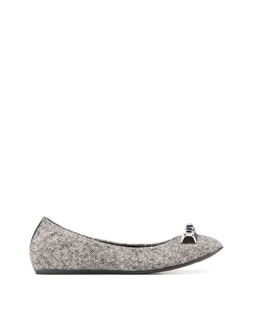 BEADED TWEED BALLET FLAT - Lanvin