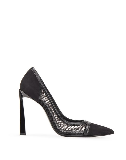 BLACK MESH PUMP - Lanvin